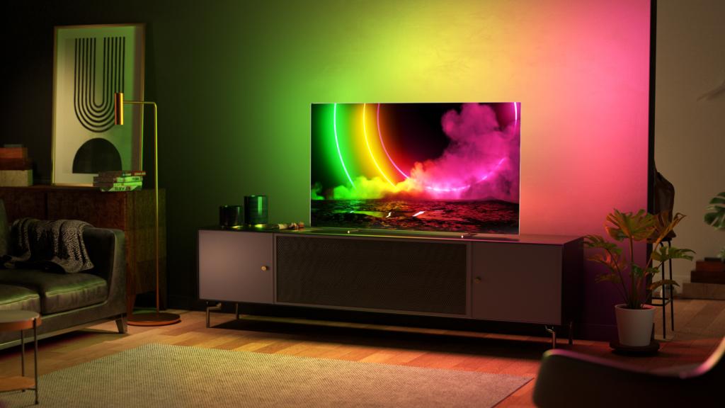 Philips OLED TV 2021 mit Ambilight