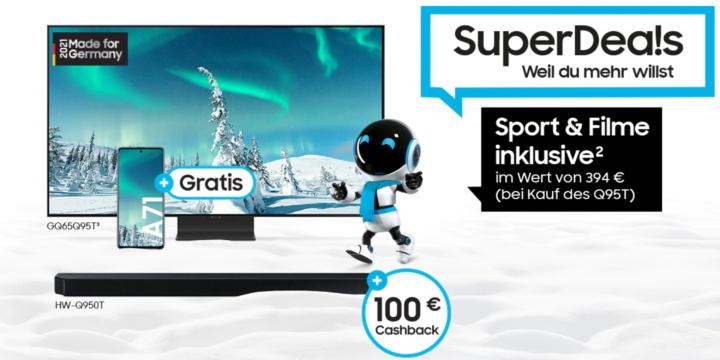 Samsung SuperDeals bei MediaMarkt: Cashback oder Smartphone sichern