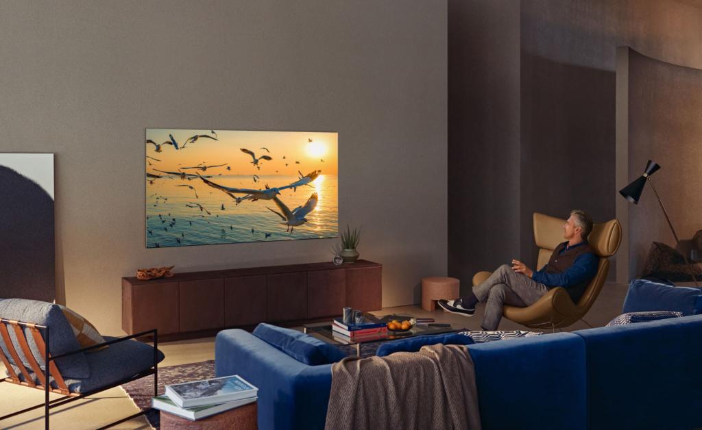 Samsung bewirbt seine Neo QLED mit Mini-LED-Technik als OLED-Konter.
