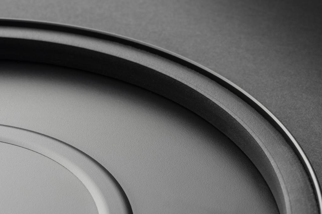 Pro-Ject Debut Carbon Evo - Plattenteller von unten