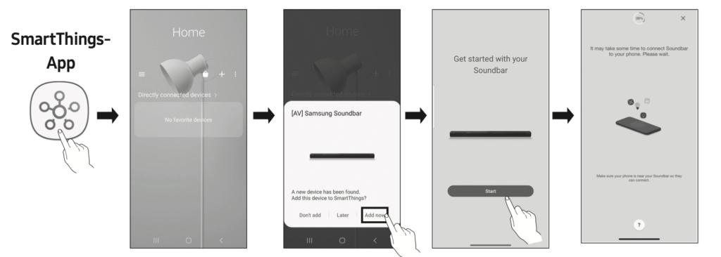 Samsung SmartThing App