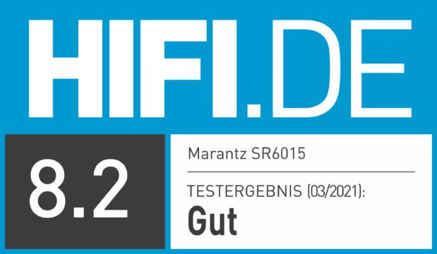 HIFI.DE Testsiegel für Marantz SR6015