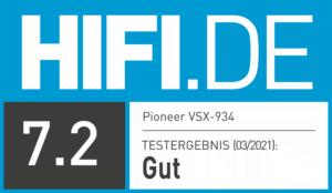 Pioneer VSX-934 getestet bei HIFI.DE