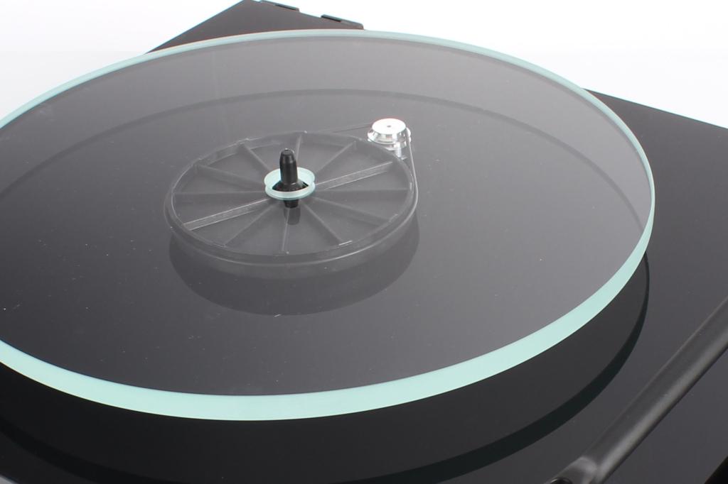 Rega PLANAR 2 Schwarz - Riemen umlegen für 45 rpm