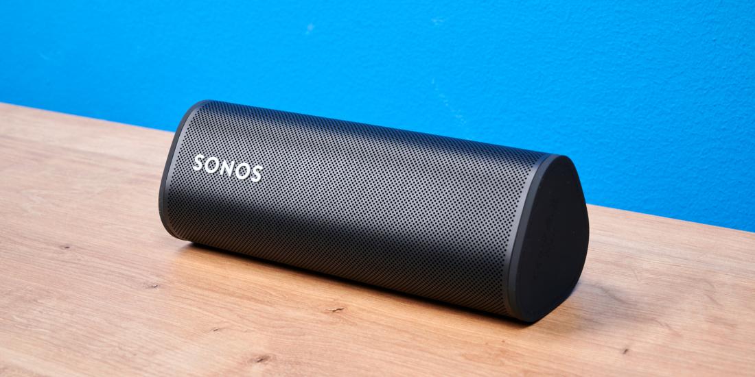 Sonos Roam liegend