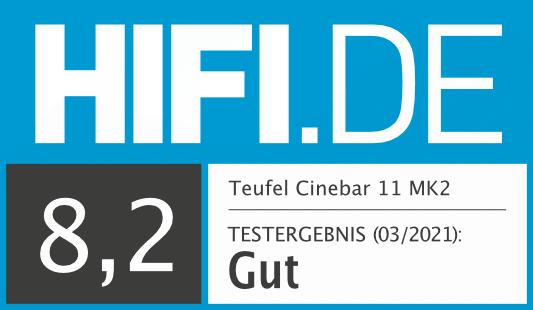 HIFI.DE Testsiegel für Teufel Cinebar 11 MK2 20