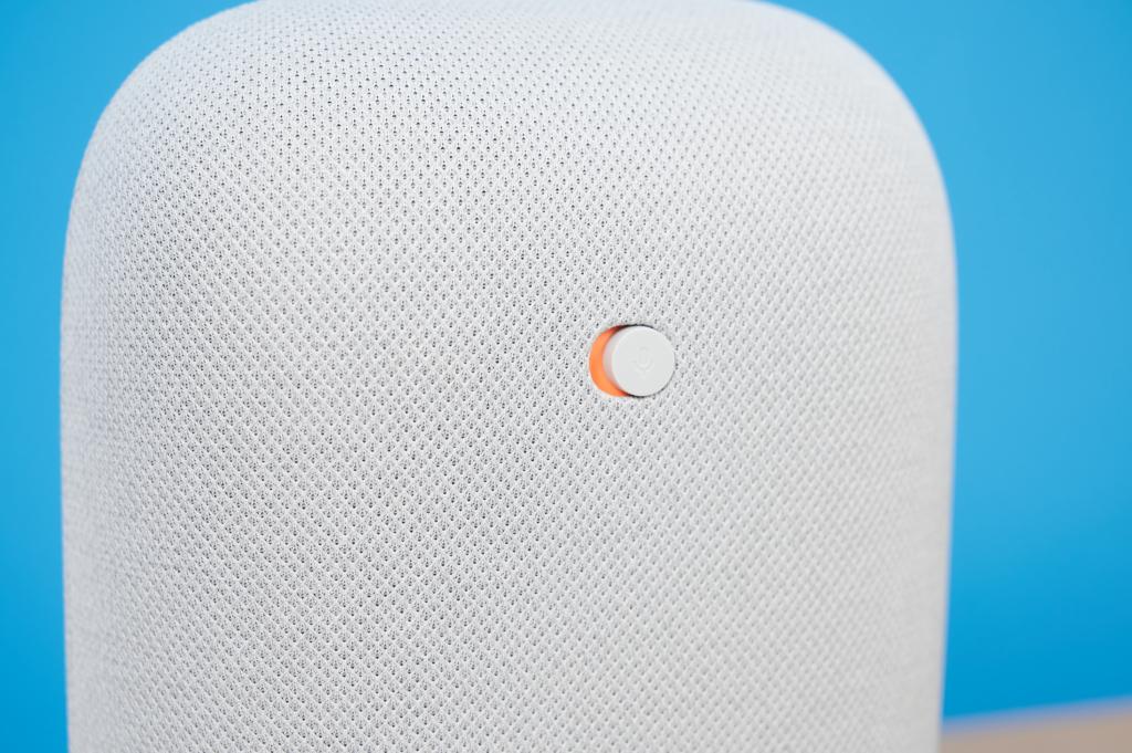 Google Nest Schiebeschalter Mikrofone