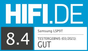 HIFI.DE Testsiegel für Samsung The Premiere im Test: Samsung überzeugt mit erstem Beamer!