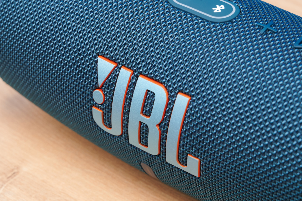 JBL Charge 5 Logo Detail