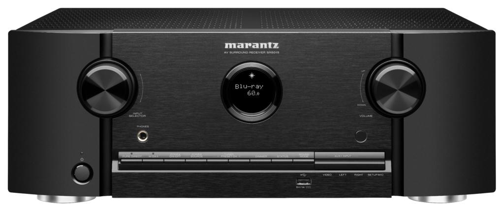 Marantz SR5015 Schwarz - Front
