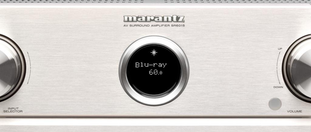 Marantz SR6015 Silver – Display