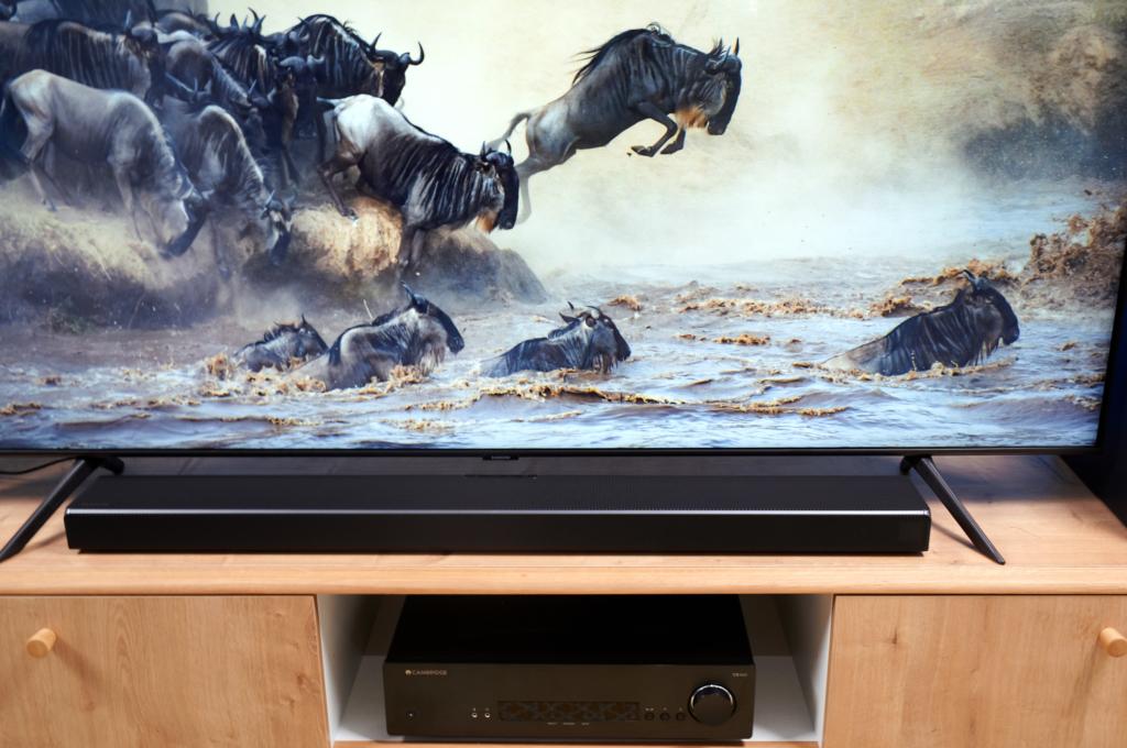Samsung Soundbar HW-q60t mit Fernseher