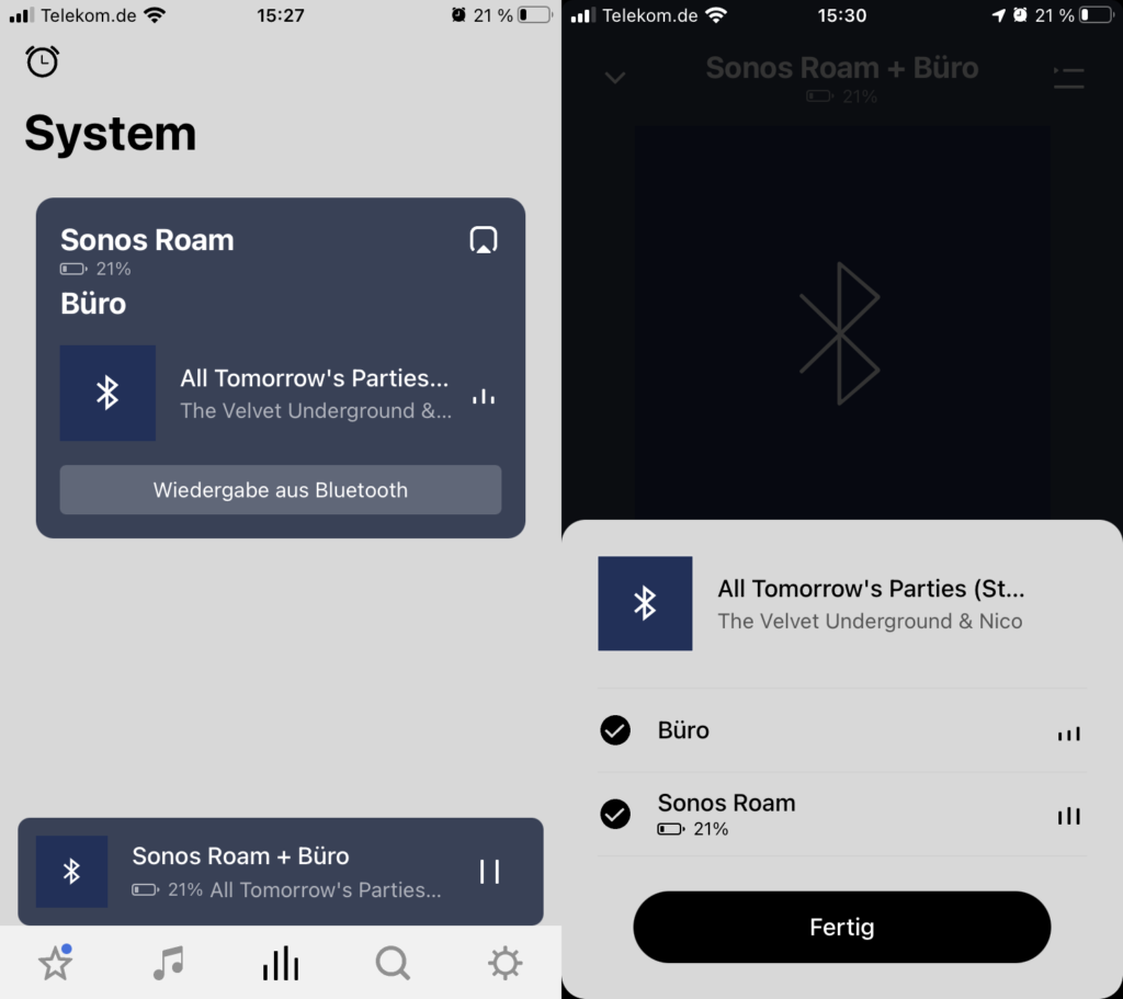 Sonos App Bluetooth Line In