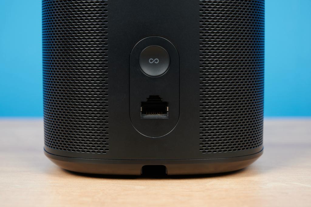 Sonos One Rückseite und Anschlüsse