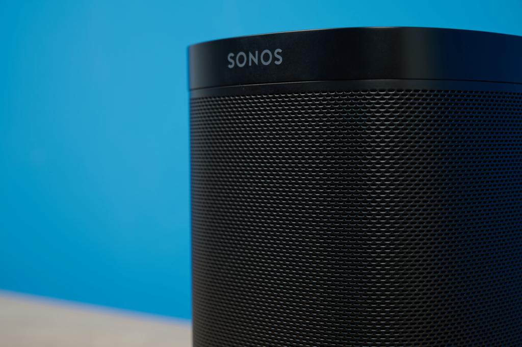 Sonos One Lautsprechergitter Detail
