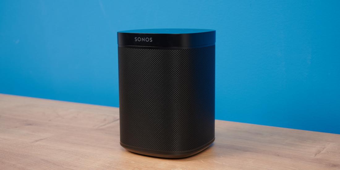 Sonos One Schrägansicht