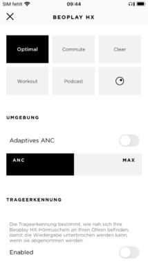 B&O App ANC