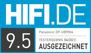 HIFI.DE Testsiegel für Panasonic DP-UB9004: Ultra-HD-Blu-ray Player im Test