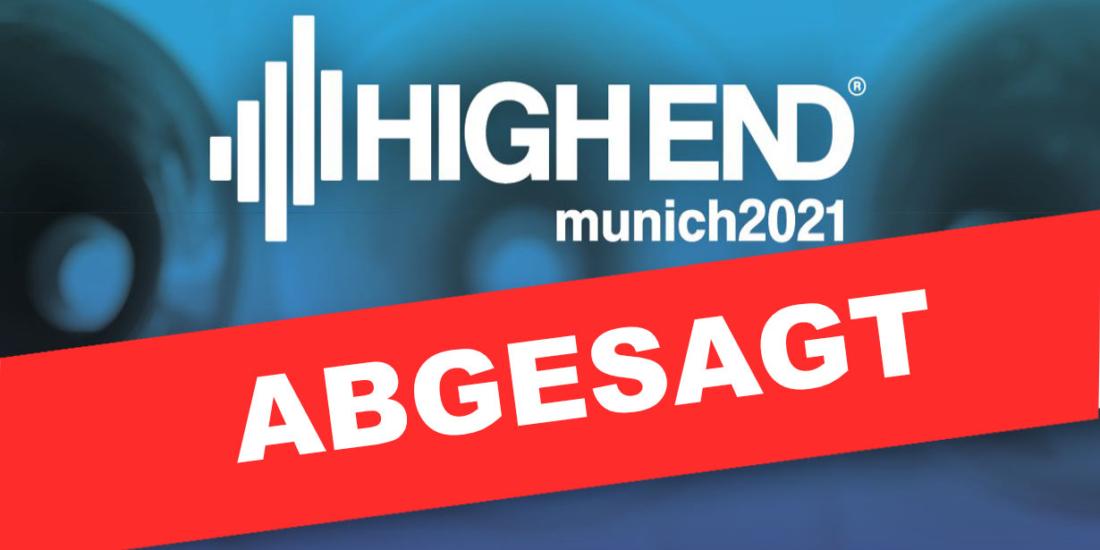 High End 2021 abgesagt