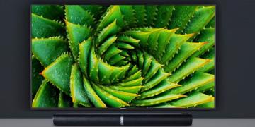 Fernseher mit Soundbar