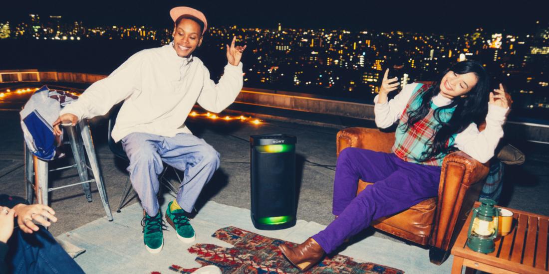 Sony X-Serie: Party-Lautsprecher mit Licht