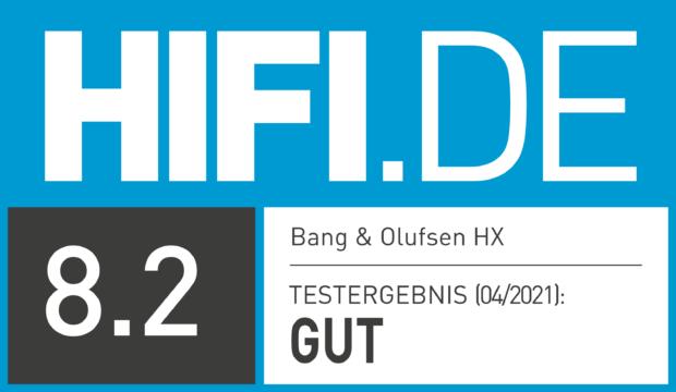 HIFI.DE Testsiegel für Bang & Olufsen HX