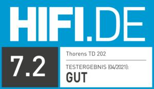 Thorens TD 202 - Testergebnis HIFI.DE