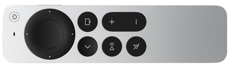 Die Fernbedienung des Apple TV