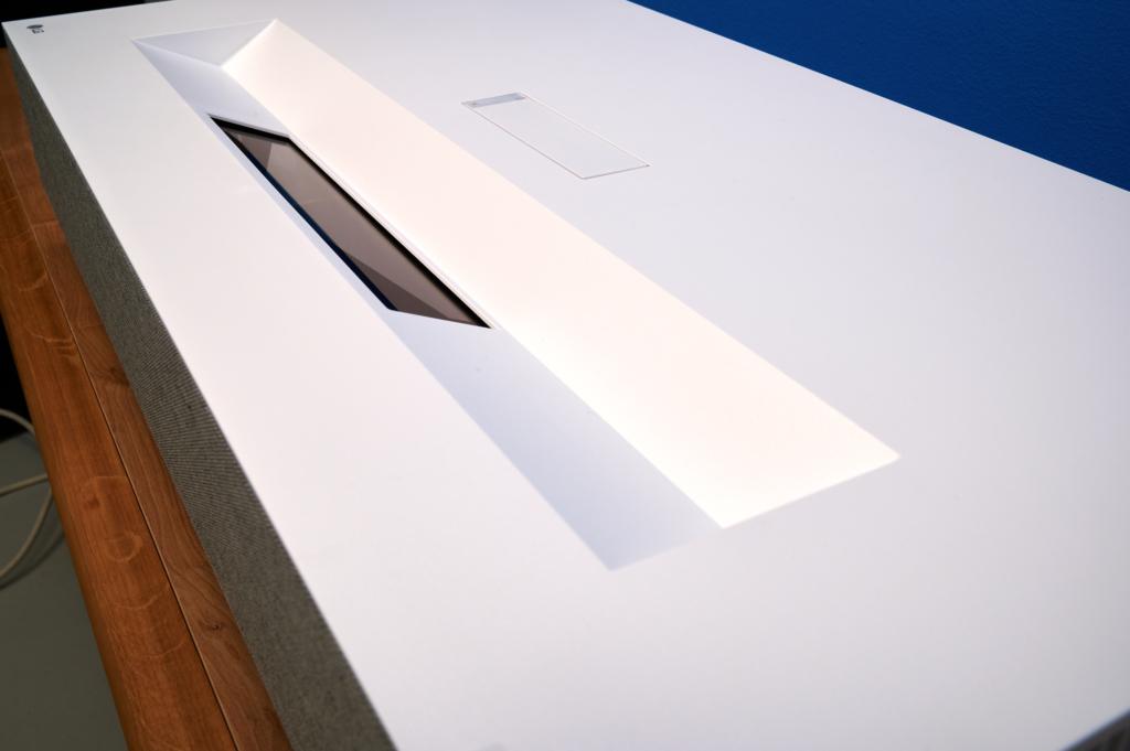 Der Laser des LG Vivo HU85LS