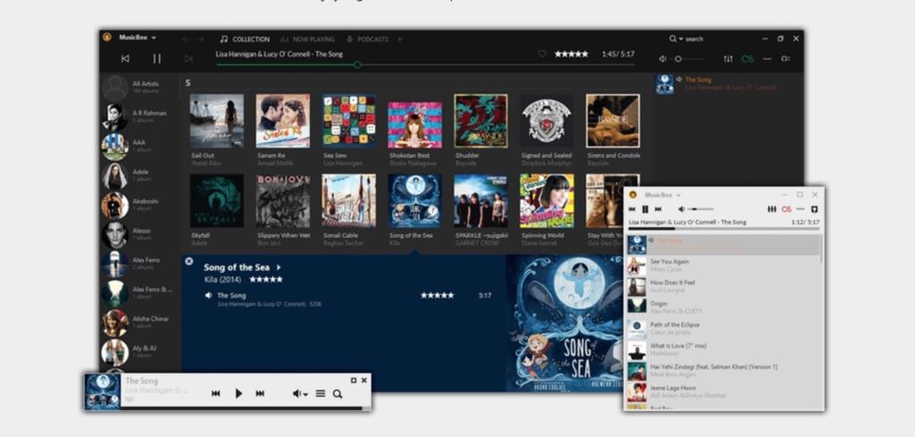 MusicBee für Windows