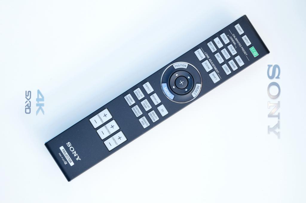 Heimkinobeamer Sony VPL-VW590ES - Fernbedienung