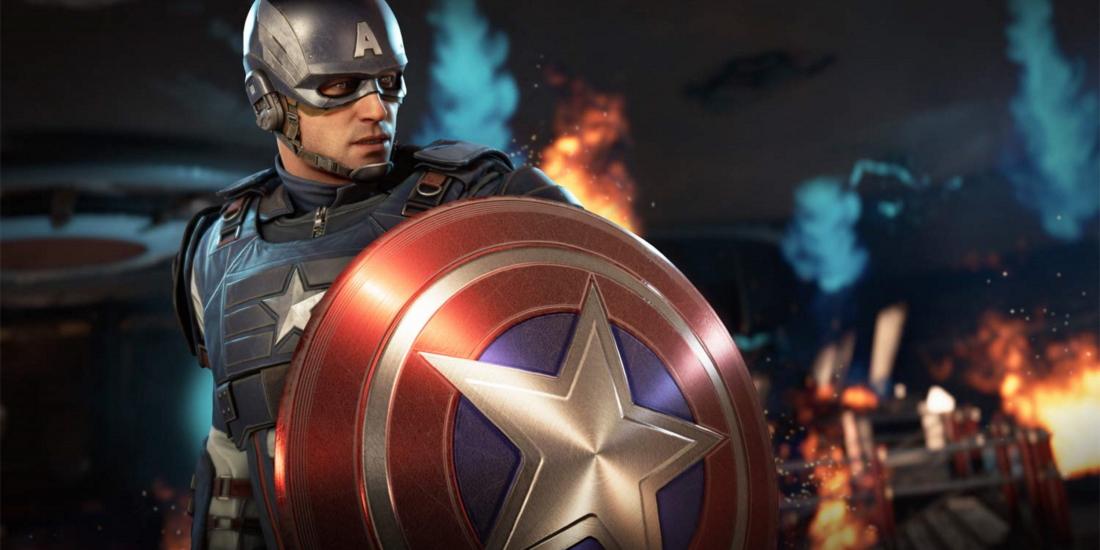 """Captain America aus """"Marvel's Avengers"""""""