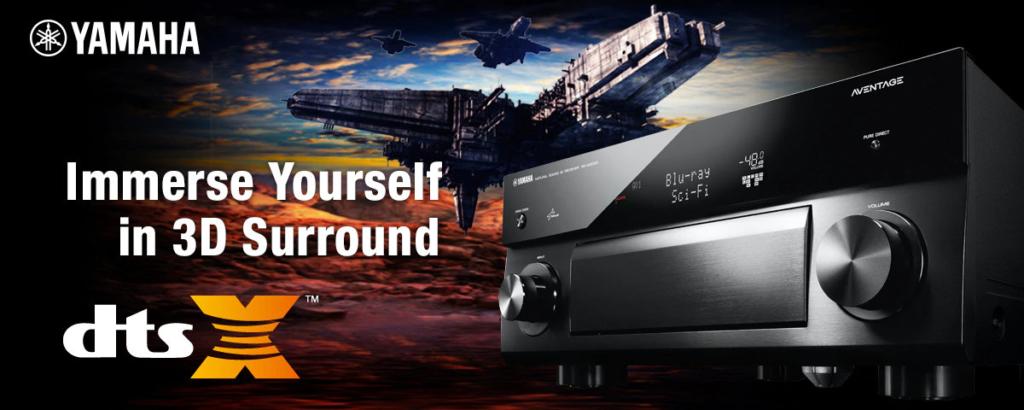 DTS:X konkurriert direkt mit Dolby Atmos und Auro 3D.