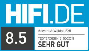 B&W PX5 - Testergebnis HIFI.DE