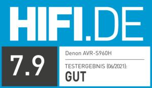 Testergebnis Denon AVR-S960H | HIFI.DE