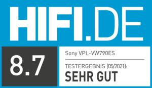 Test-Ergebnis Sony VPL-VW790ES   HIFI.DE