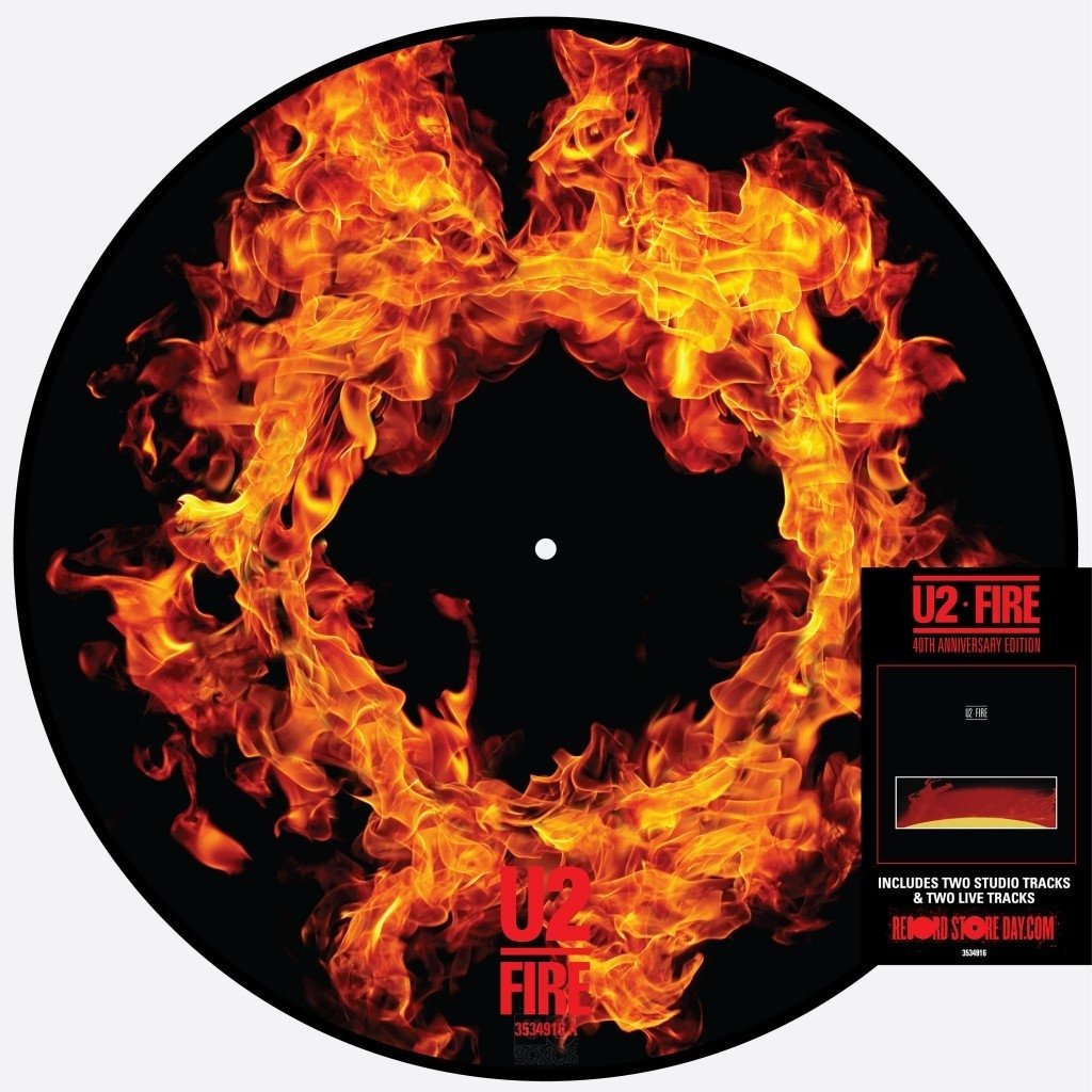 U2 Fire EP Front Cover