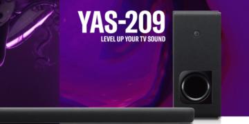 Soundbar von Yamaha
