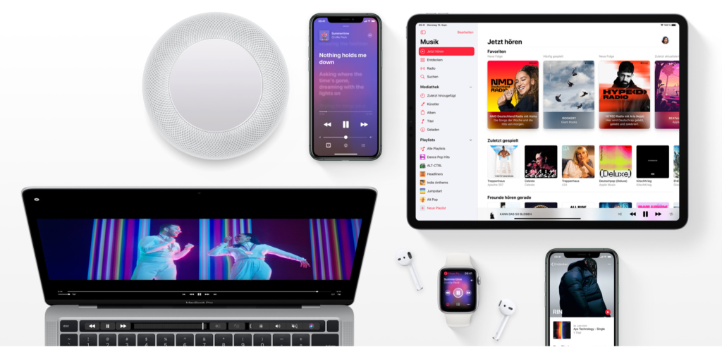 Apple Music Geräte