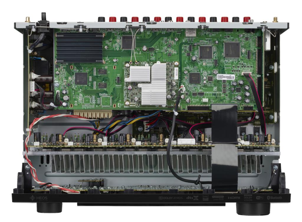 Denon AVR-S960H Innenansicht