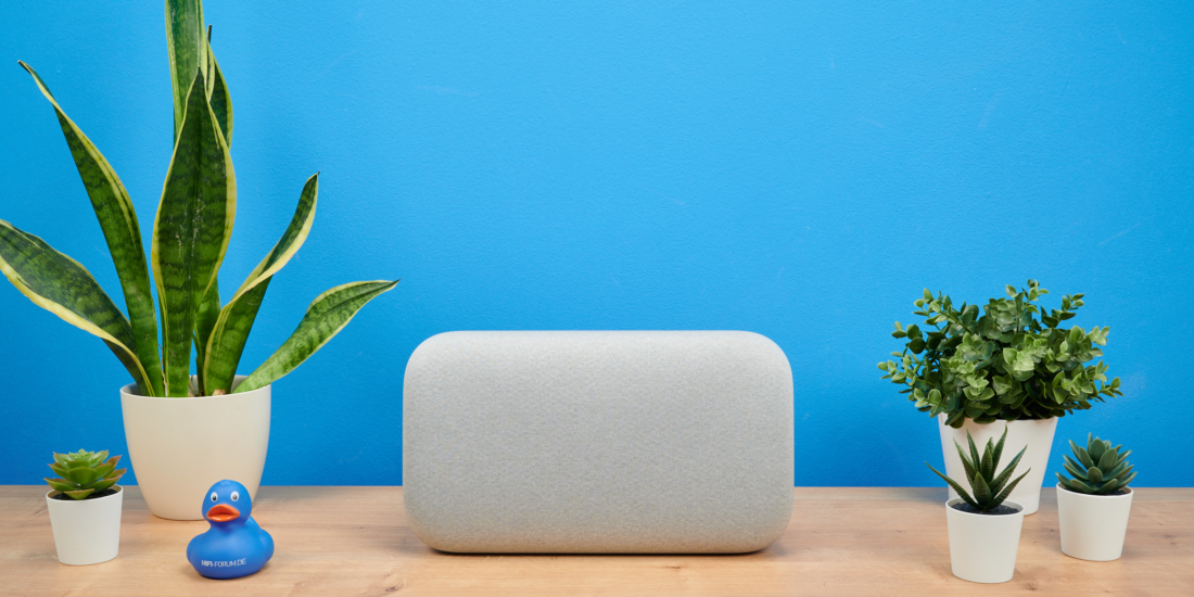 Google Home Max frontal Sideboard