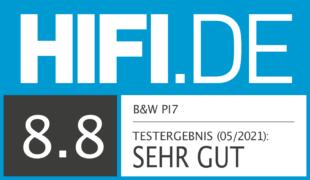 HIFI.DE Testsiegel für B&W PI7 im Test – Klangstarke In-Ears mit Audio-Transmitter im Case