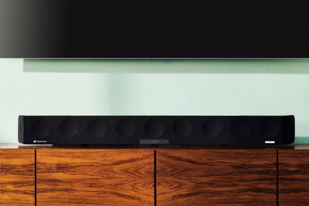 Soundbars der Marke Sennheiser, wie die hier zu sehende Ambeo, stammen in Zukunft von Sonova.