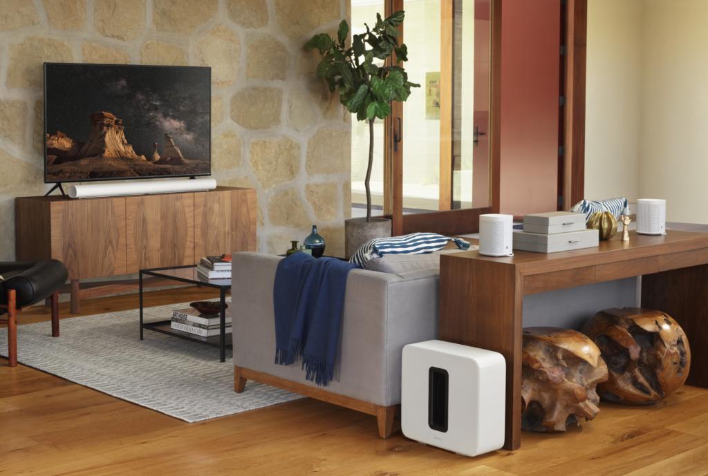Mit der Sonos Arc lässt sich nicht nur ein Surround-Sound-, sondern auch ein Multiroom-Set-up aufbauen.