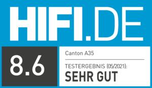 Testergebnis Canton A35 [ HIFI.DE