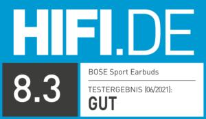 Testergebnis Bose Sport Earbuds | HIFI.DE