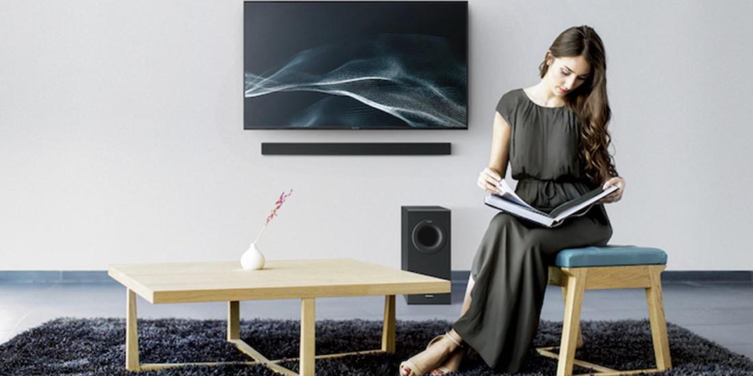 Panasonic Soundbar mit Fernsehrer