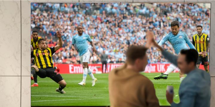 Fußball auf LG-TV gucken