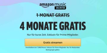 Prime Day 2021: Amazon Music Unlimited jetzt kostenlos abonnieren