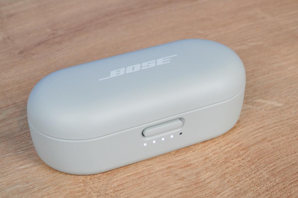 Das Ladecase der Bose Sport Earbuds